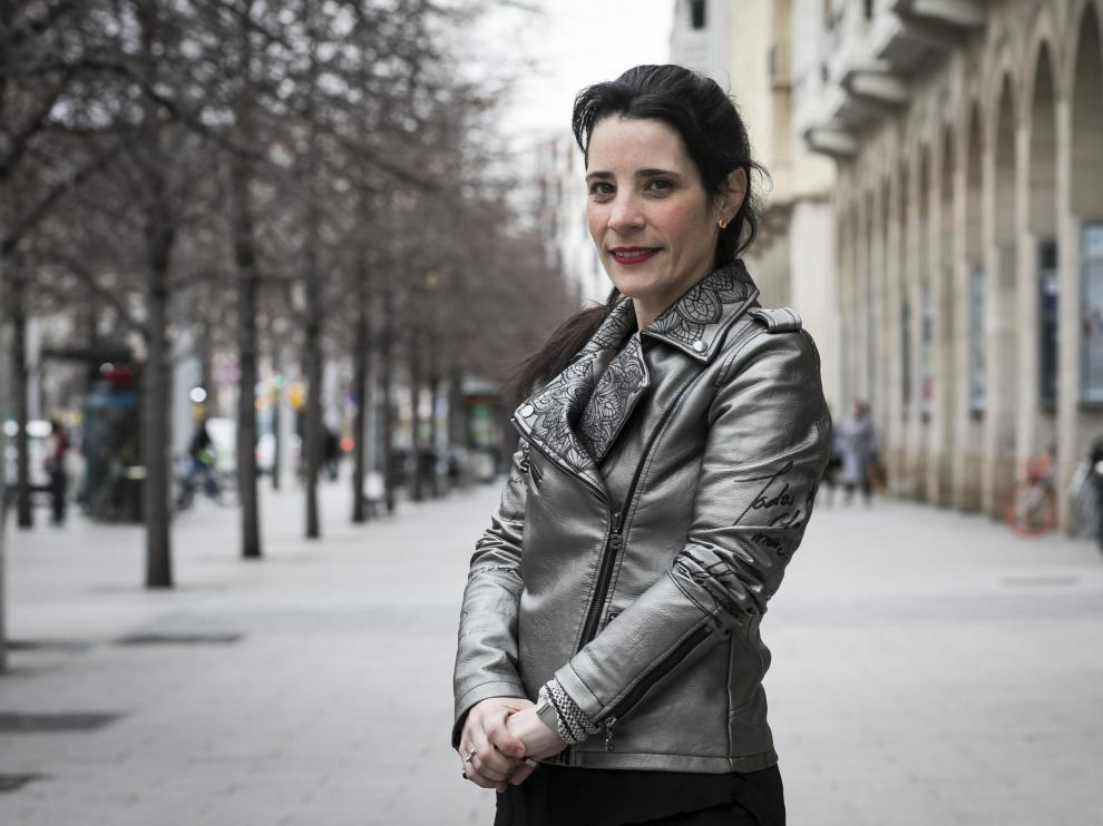 Lorena Giménez, responsable de la Asociación Ilógica, al frente de la Social Impact Academy