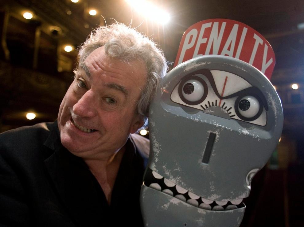 Terry Jones, de los Monty Python, en 2008.