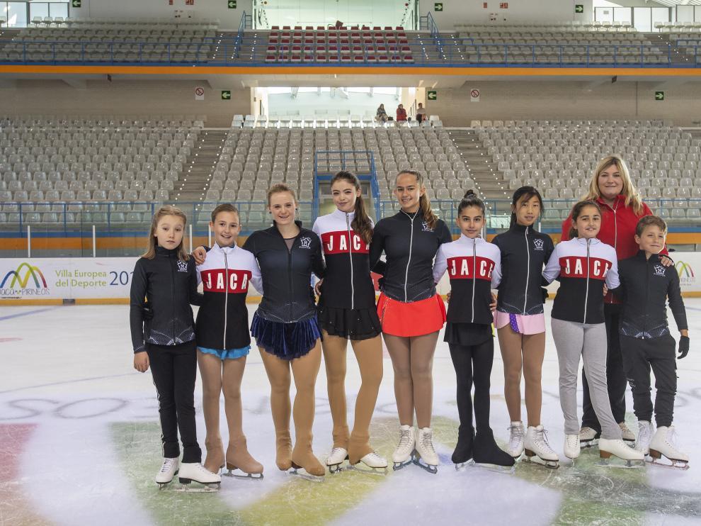Los patinadores que debutarán en Logroño.
