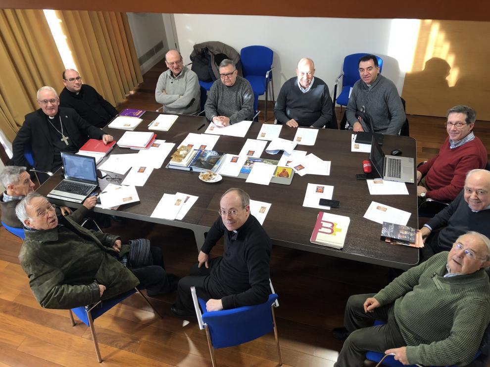 Reunión del Consejo del Presbiterio de la Díócesis de Barbastro-Monzón