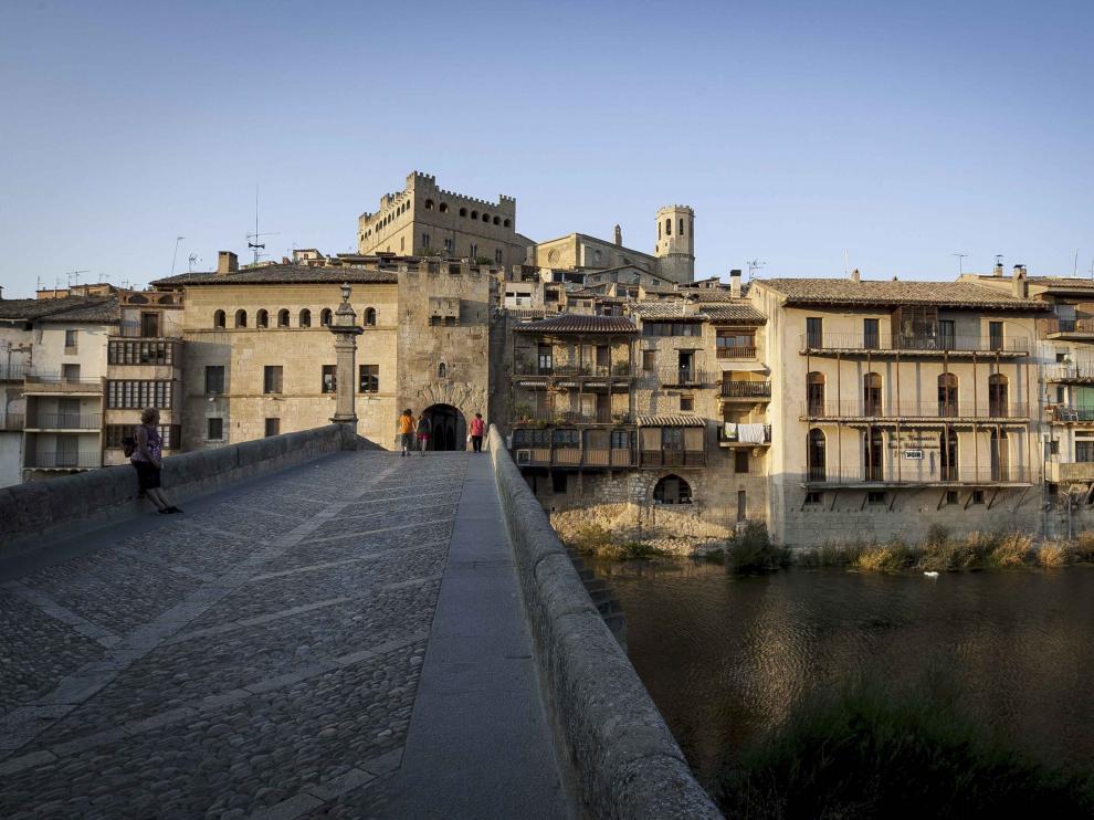 Vista de Valderrobres en Teruel