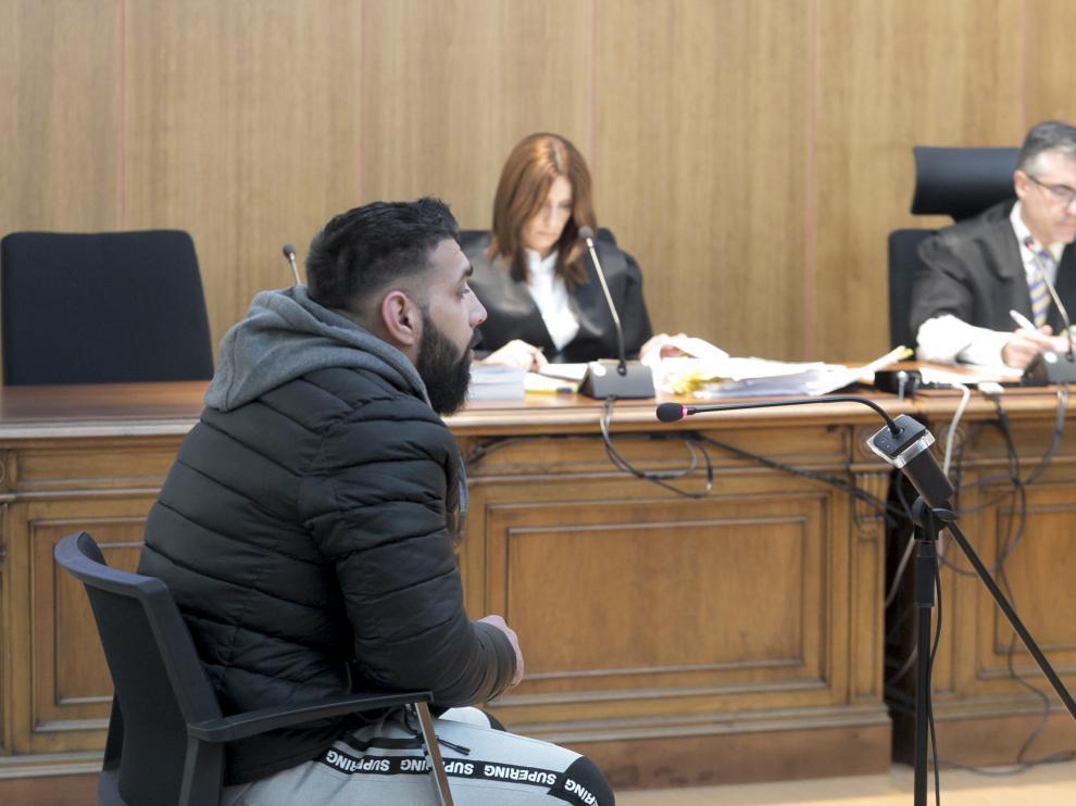 Audiencia Provincial de Huesca - Juicio por tentativa de homicidio / 15-01-20 / Foto Rafael Gobantes [[[FOTOGRAFOS]]] [[[HA ARCHIVO]]]