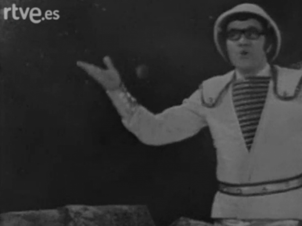 Félix Casas era el Capitán Tan en la serie de Televisión Española 'Los Chiripitifláuticos'