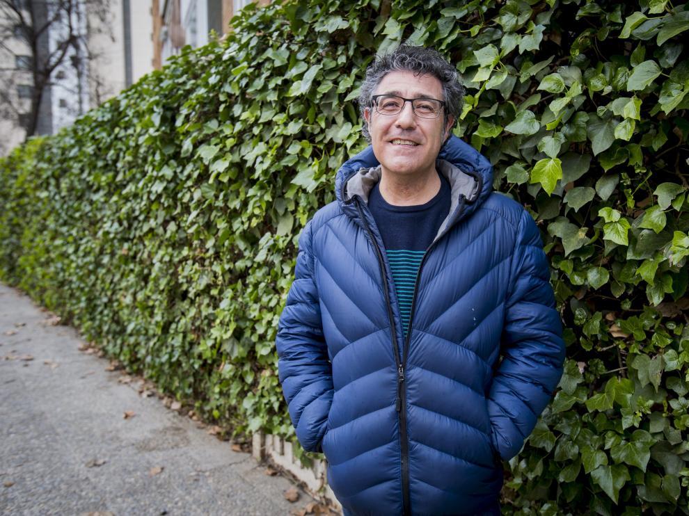 El escritor zaragozano de Literatura Infantil y Juvenil (LIJ) Daniel Nesquens