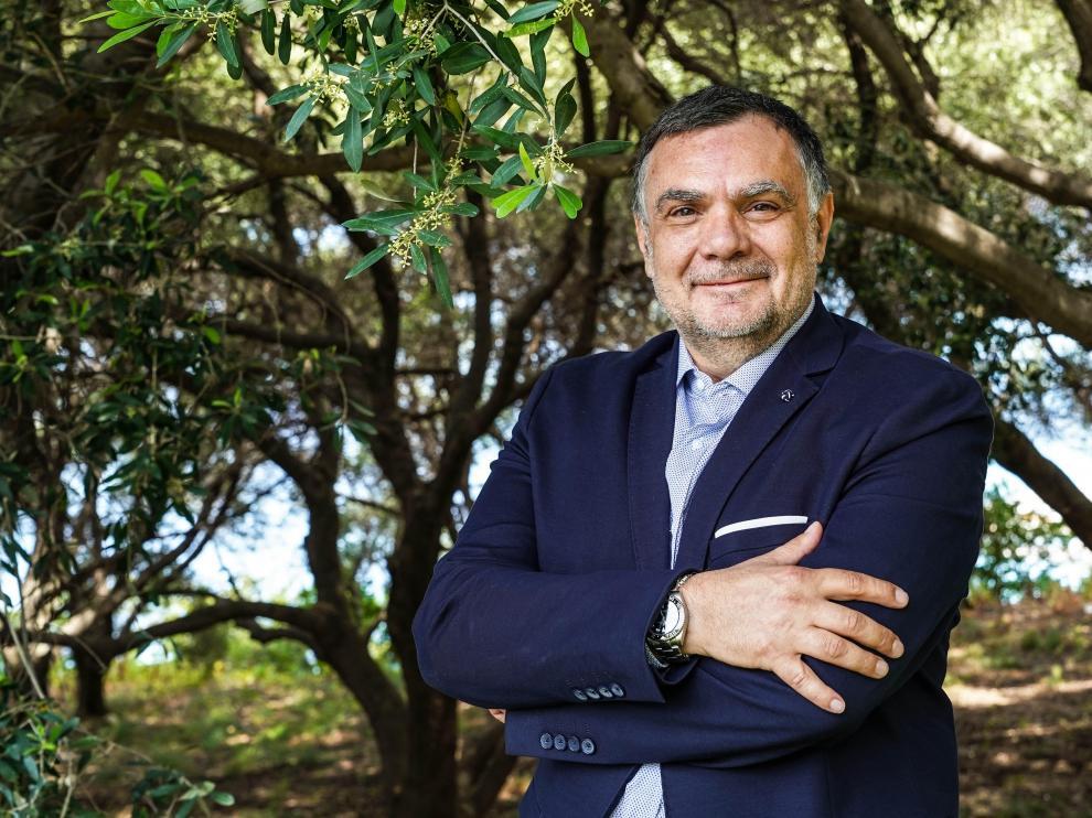 Antonio Lauro, experto en aceites de oliva virgen, catador y profesor en cursos internacionales.