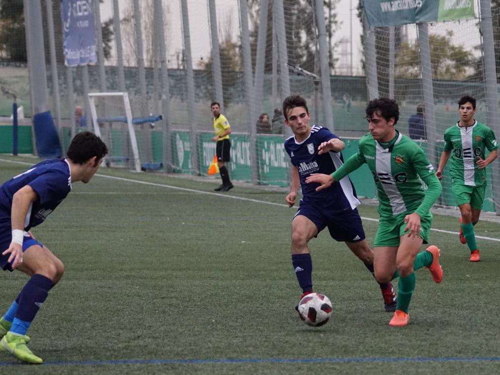 Fútbol. DH Juvenil- Cornellá vs. Stadium Casablanca.