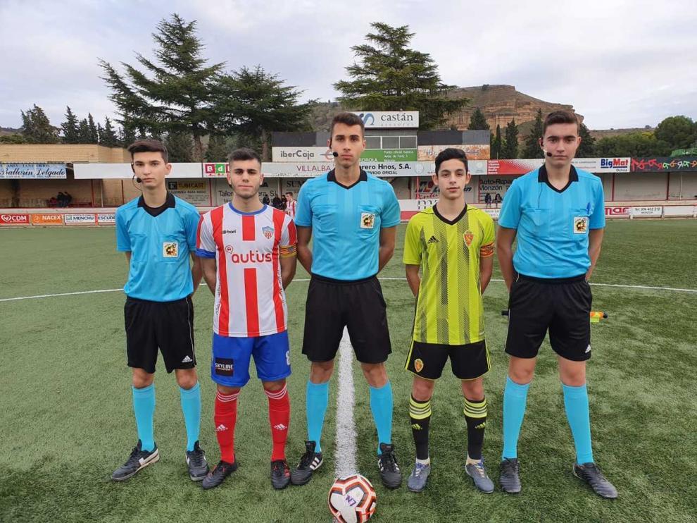 Fútbol. LN Juvenil- Monzón vs. Real Zaragoza juvenil B.