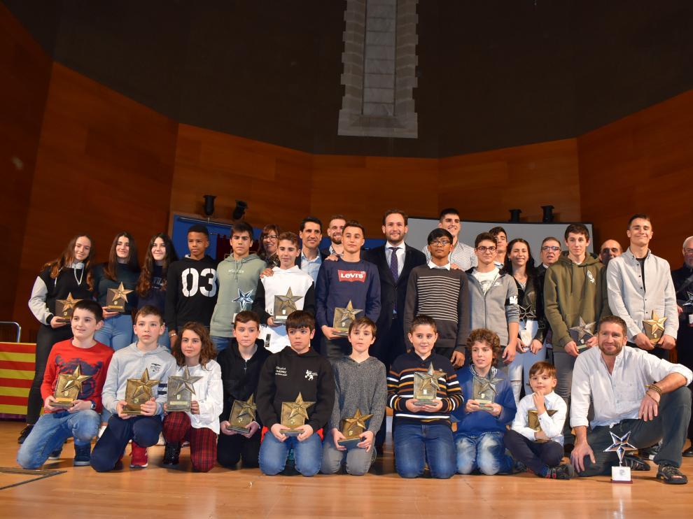 XXXI Gala del Deporte de Monzón.