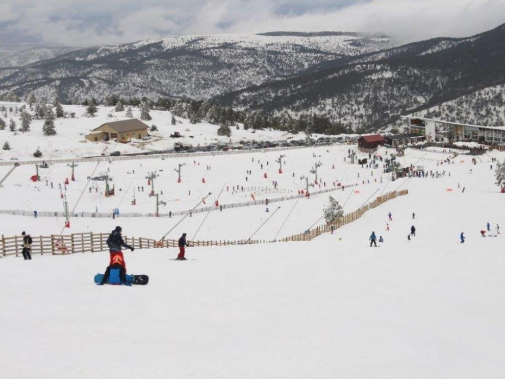 Estación de esquí de Javalambre.