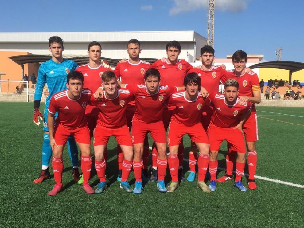 Fútbol. DH Juvenil- Atlético Villacarlos vs. Real Zaragoza Juvenil.