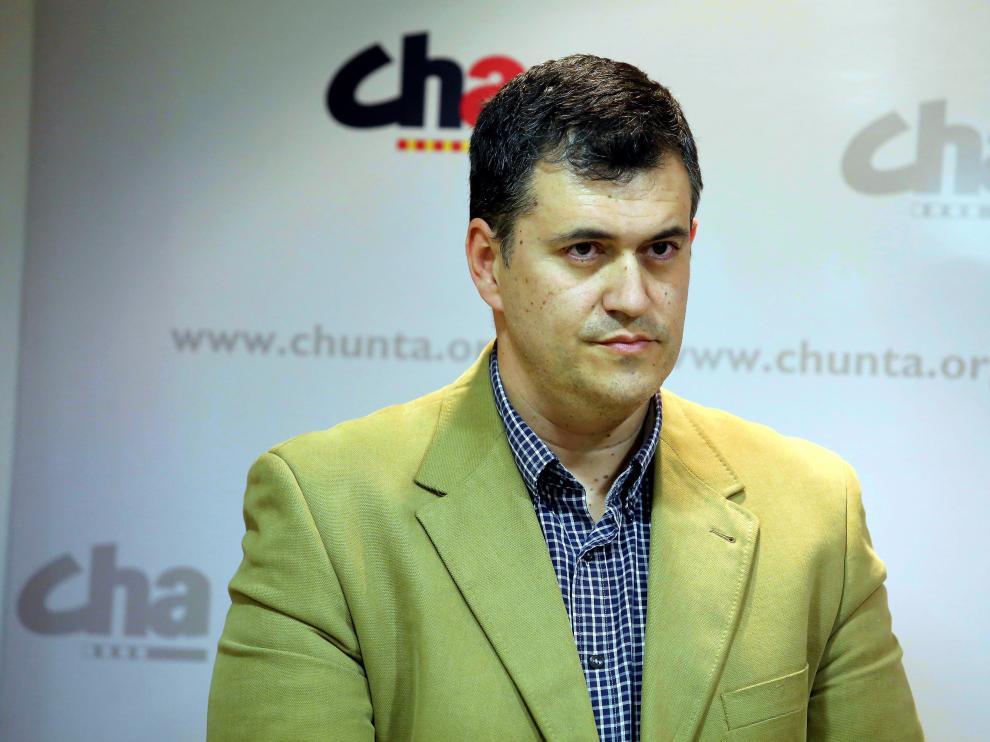 Joaquín Palacín, de CHA.