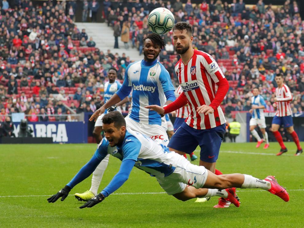 Partido Atlético de Madrid-Leganés, en el Wanda Metropolitano