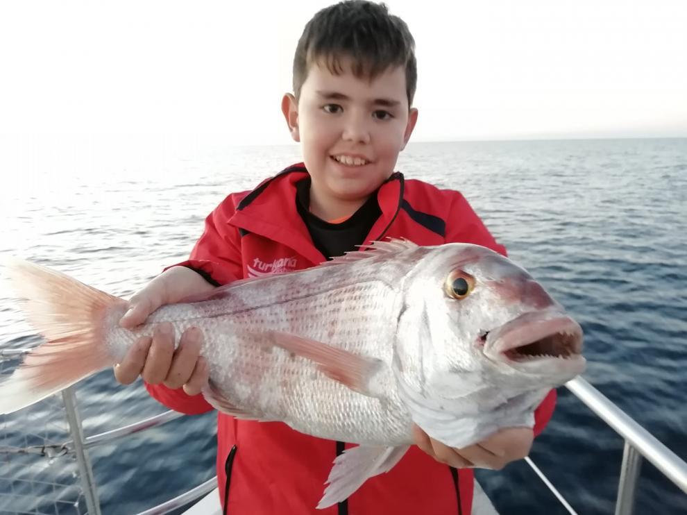 Pedro Romero, el niño prodigio de la pesca de Utrillas.