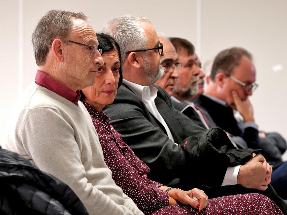De los ocho directivos de Ferrocarriles de la Generalitat Valenciana que se sentaban en el banquillo de los acusados, cuatro han sido condenados y otros cuatro absueltos