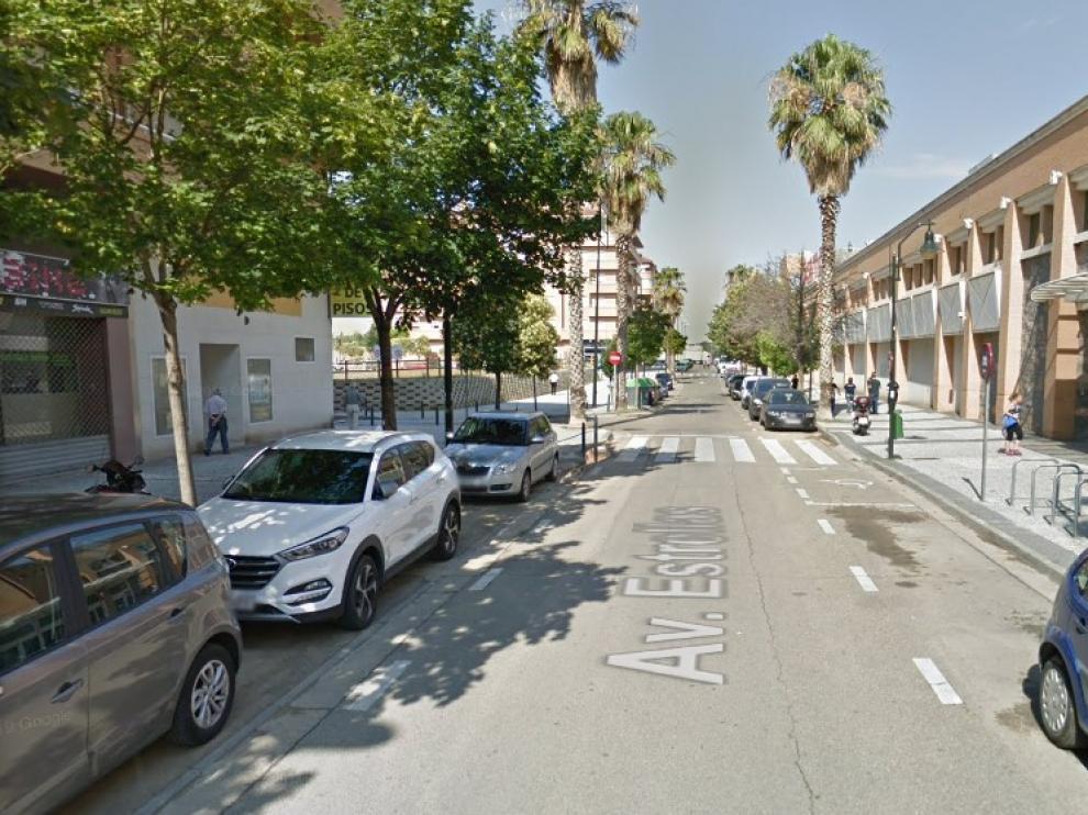 El presunto ladrón intentó robar en un establecimiento de la avenida de las estrellas