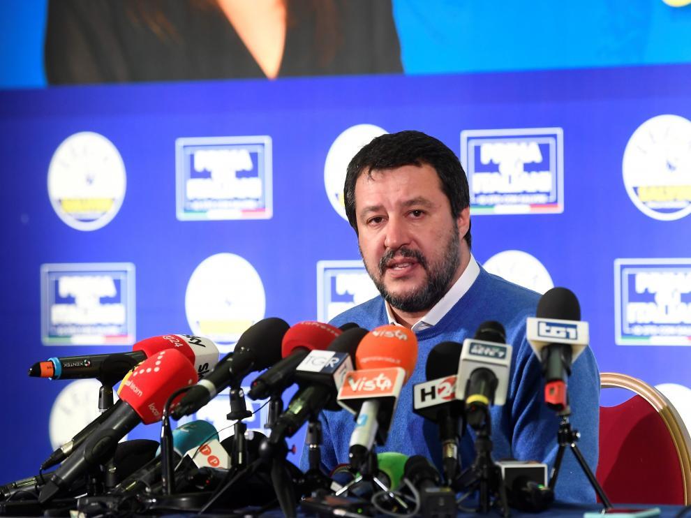 El ultraderechista Matteo Salvini reconoció su derrota
