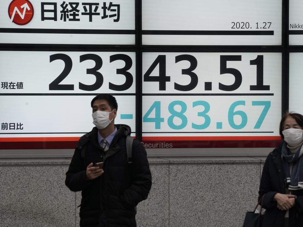 Fuertes medidas de seguridad en Tokio ante la alerta por el coronavirus de China.