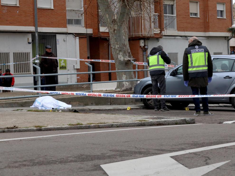 El tiroteo ha tenido lugar en la calle Maestro Soler de Salamanca.