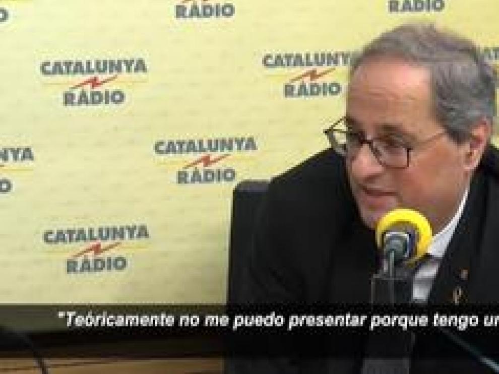 El president de la Generalitat deja en el aire este jueves la mesa de diálogo entre gobiernos, acordada por el PSOE y ERC, a la espera de reunirse con Sánchez