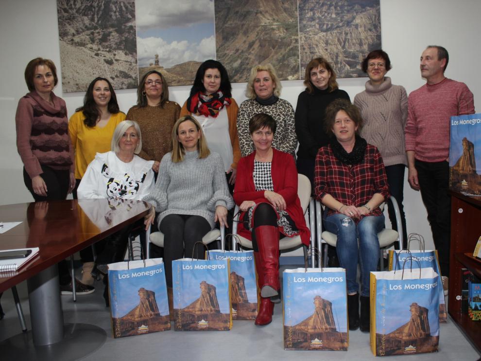 Bibliotecarias de diez bibliotecas de Los Monegros se han reunido en Sariñena.