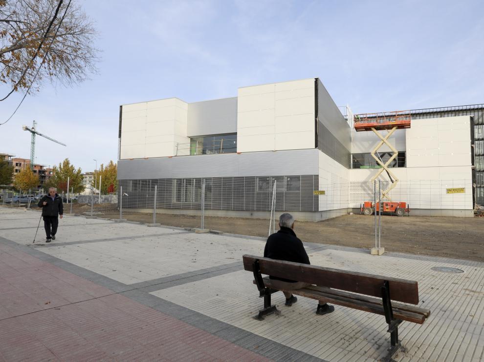 Obras del centro de salud de Los Olivos / 25-11-19 / Foto Rafael Gobantes [[[FOTOGRAFOS]]] [[[HA ARCHIVO]]]