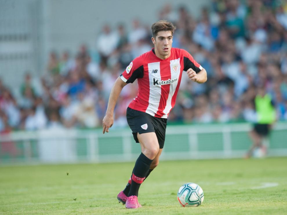 Gaizka Larrazábal, futbolista del Athletic pretendido por el Zaragoza.