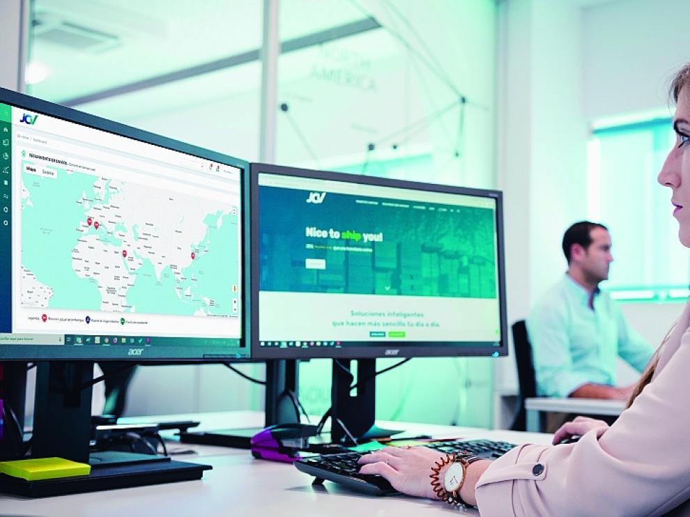 La plataforma permite a las empresas recibir información en tiempo real sobre sus envíos realizados por mar.