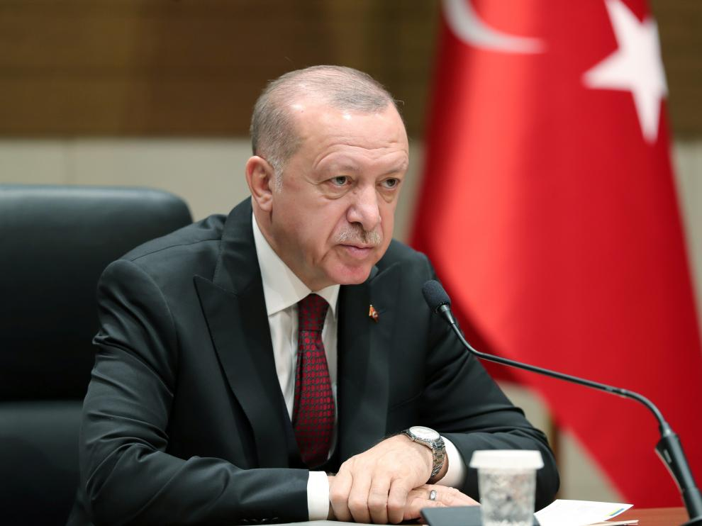 El presidente turco Tayyip Erdogan.