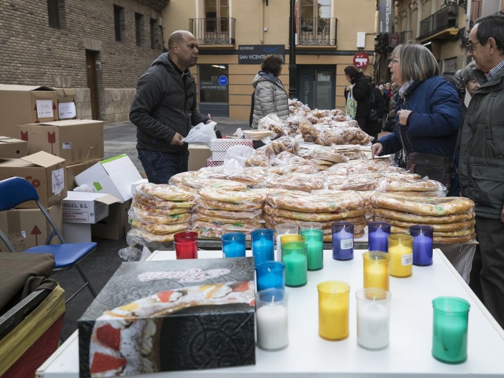 San Pablo festeja el día de San Blas, icono de esta parroquia de Zaragoza.