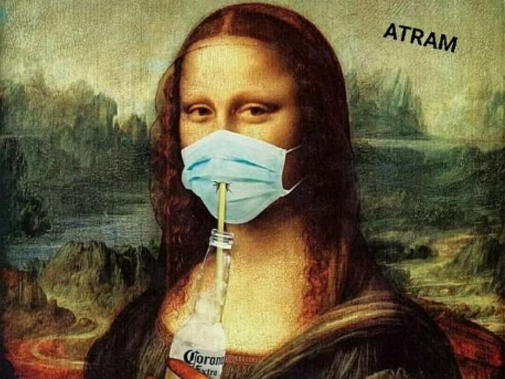 Uno de los memes del coronavirus en Twitter.