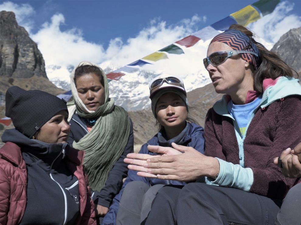 Edurne Pasaban presentará el documental 'Chhaupadi'