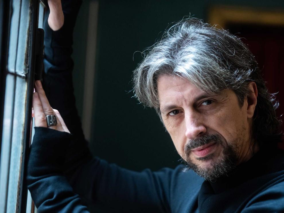 Miguel Ángel Berna está dando las últimas pinceladas a su próximo espectáculo