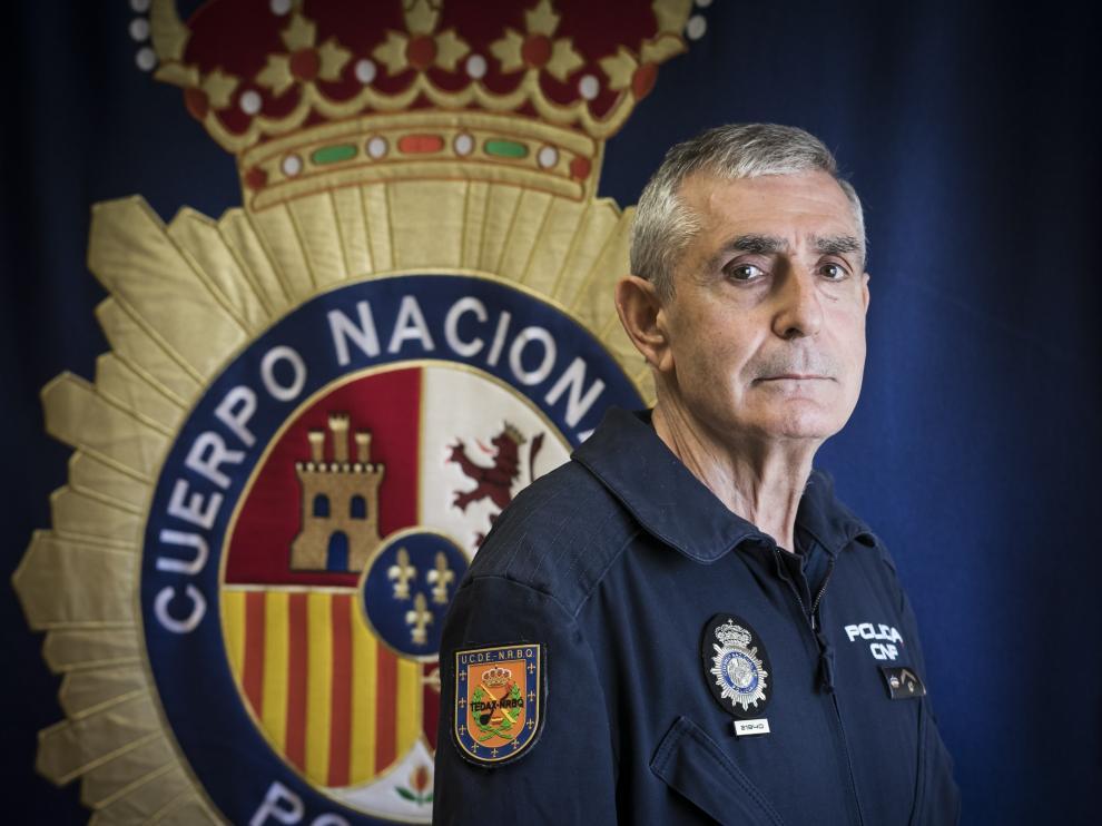 FELIX HERNANDEZ ( SUBINSPECTOR DE LA POLICIA NACIONAL ) / TEDAX / 06/02/2020 / FOTO : OLIVER DUCH [[[FOTOGRAFOS]]]