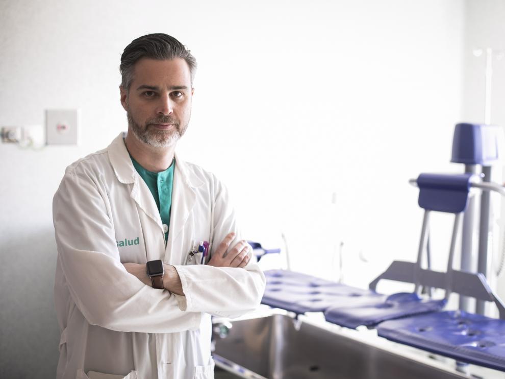ENRIQUE MONCLUS ( COORDINADOR MEDICO DE LA UNIDAD DE GRANDES QUEMADOS DEL HOSPITAL MIGUEL SERVET DE ZARAGOZA ) / 05/02/2020 / FOTO : OLIVER DUCH [[[FOTOGRAFOS]]]