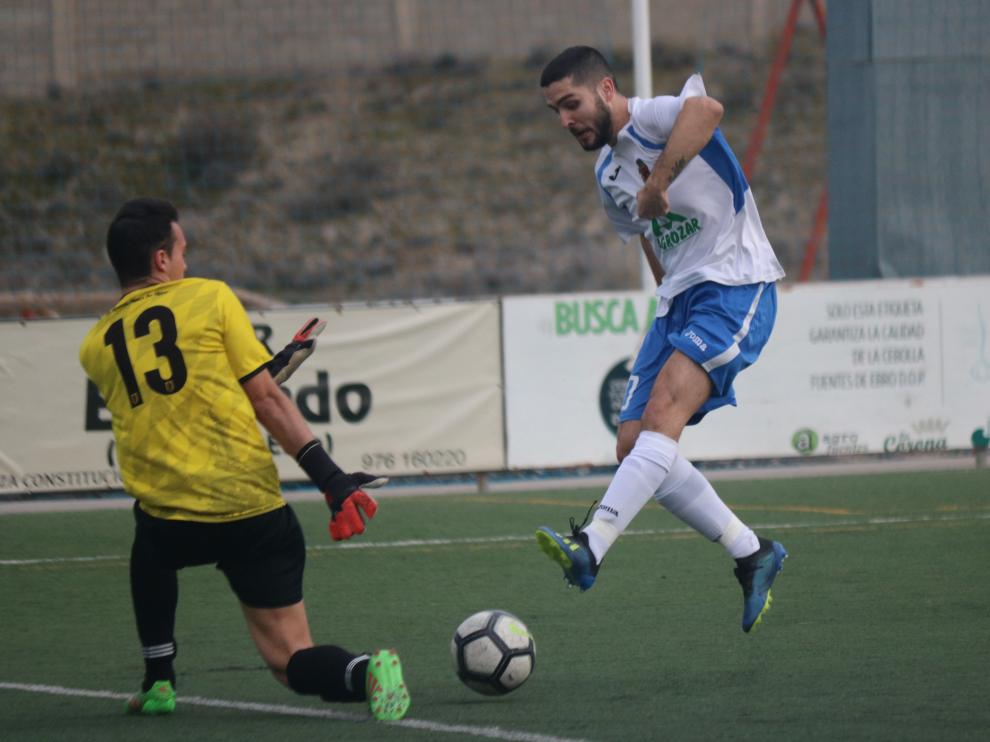 Fútbol. Regional Preferente- CD Fuentes vs. CD Calatorao.