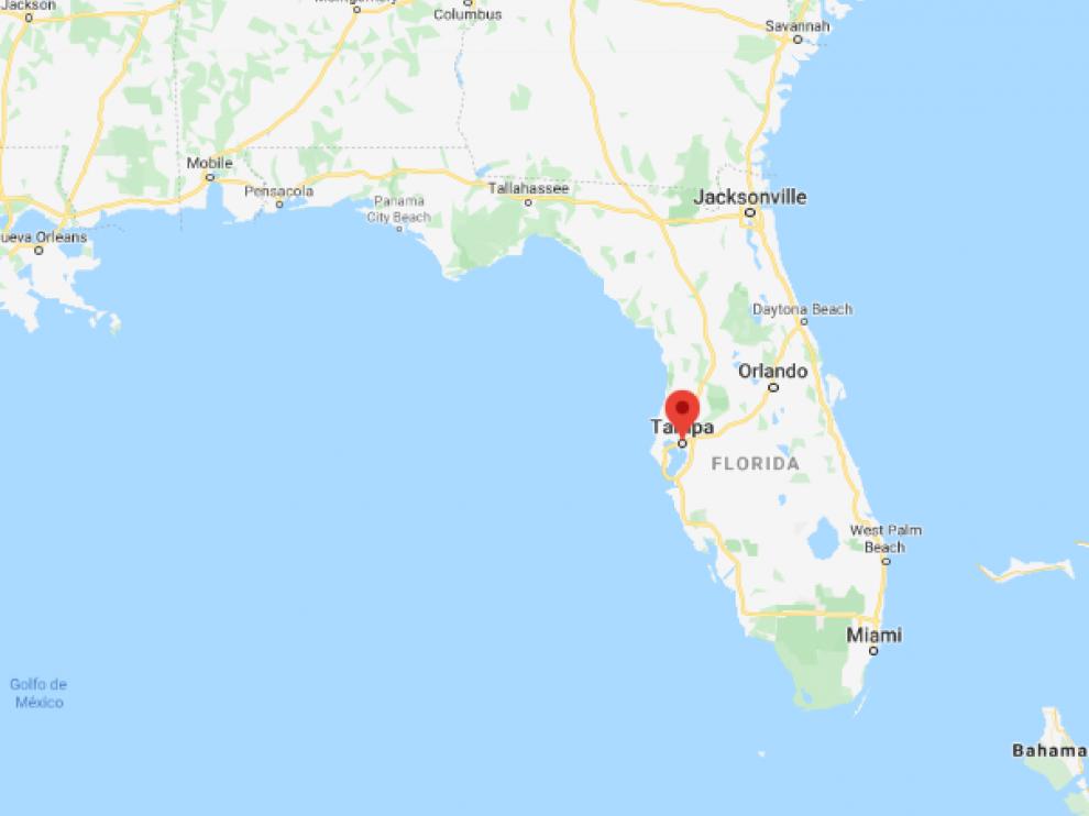 El suceso ocurrió en la ciudad de Tampa