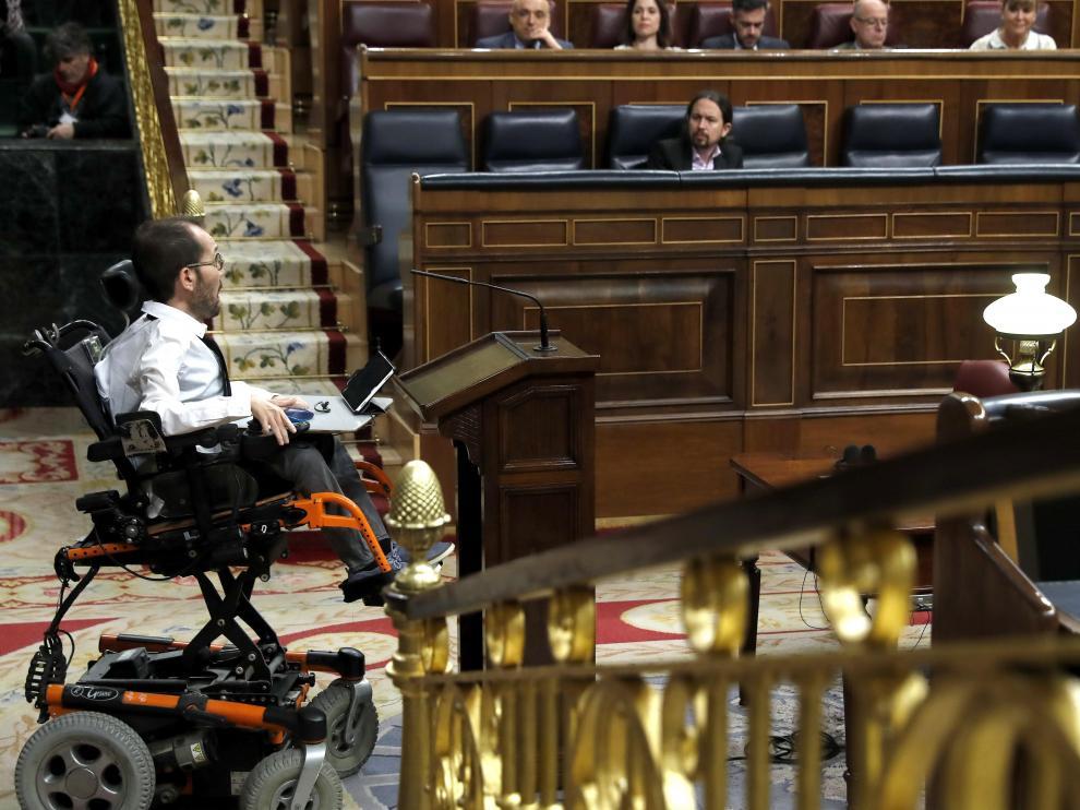 Intervención de Pablo Echenique en el Congreso