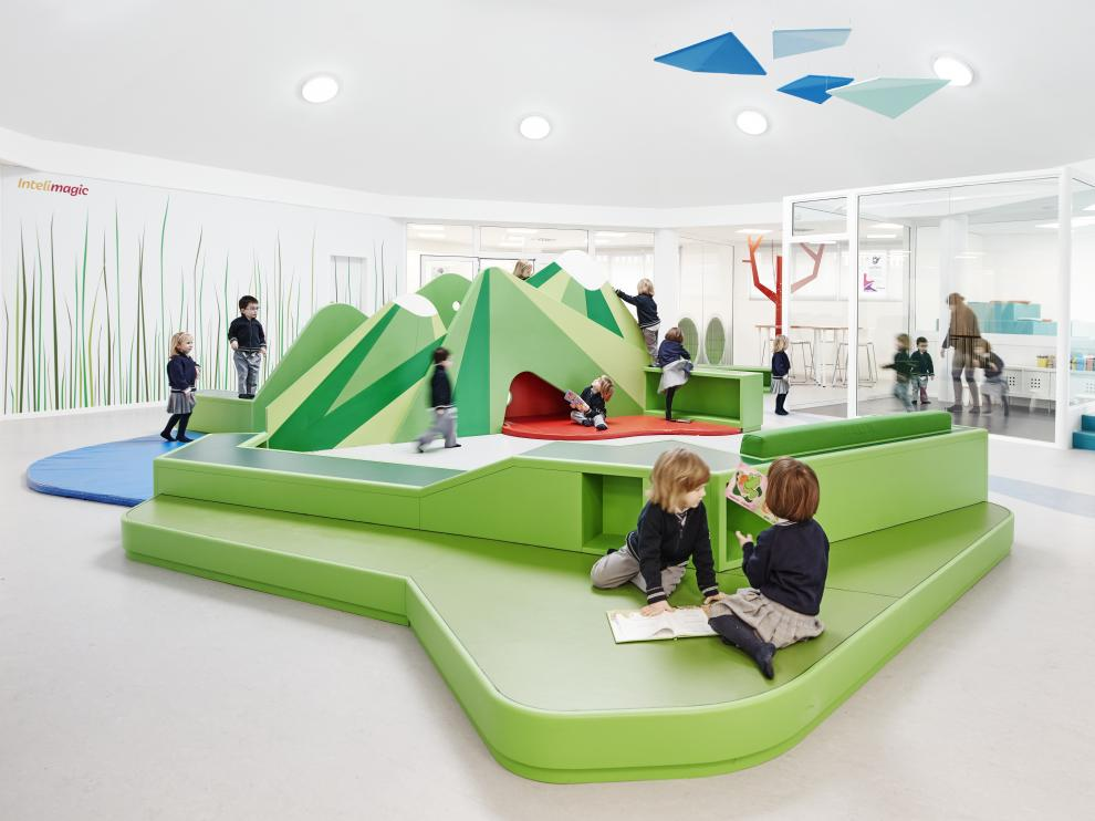 El Liceo Europa cuenta con la más modernas instalaciones.