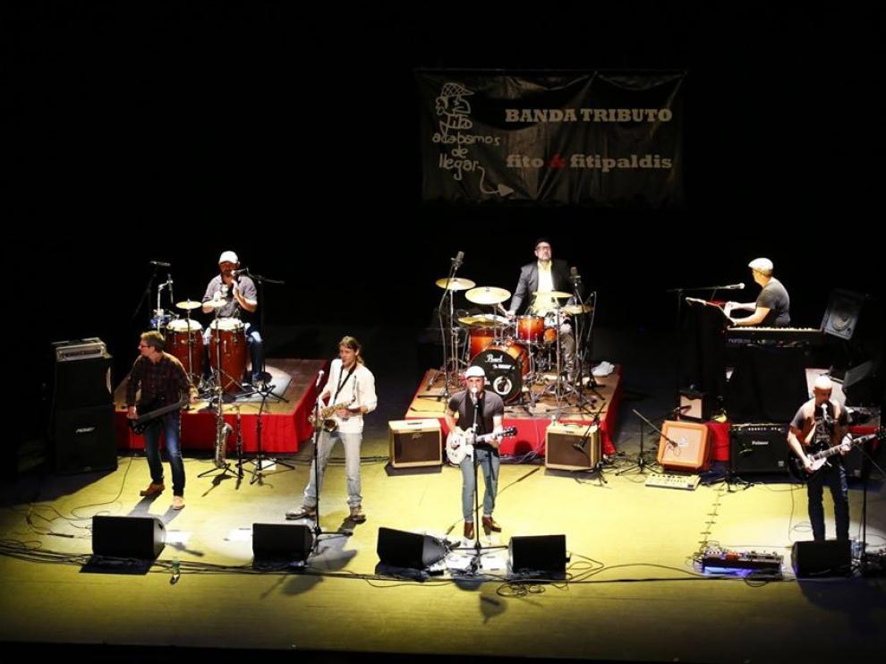 La banda catalana Acabamos de llegar ofrecerá el concierto tributo a Fito y Fitipaldis.
