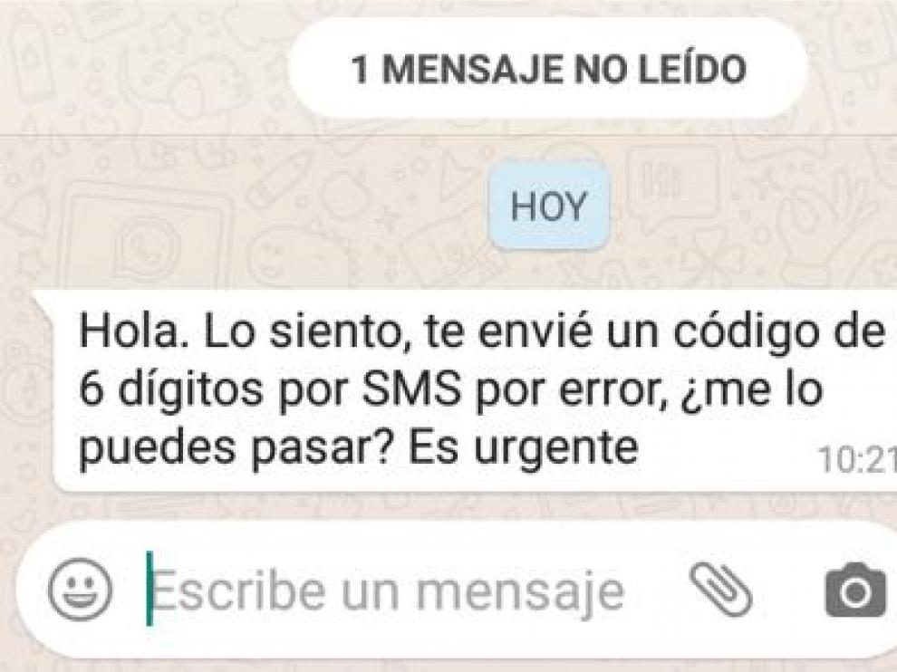 La Guardia Civil alerta: si recibes este mensaje por WhatsApp, no contestes
