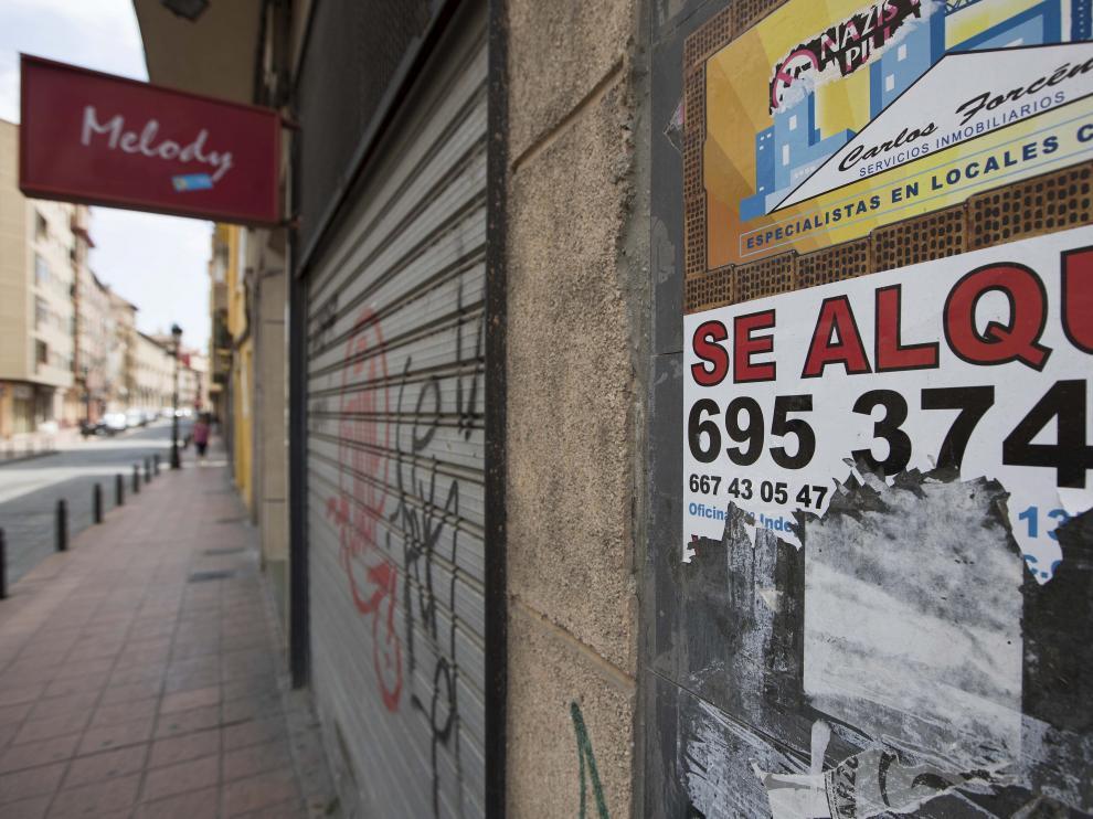 La calle Predicadores es una de las que ha registrado un uso irregular de locales