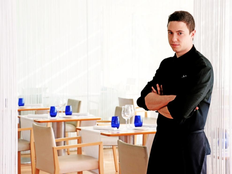 Javier Gómez, chef del restaurante Celebris.