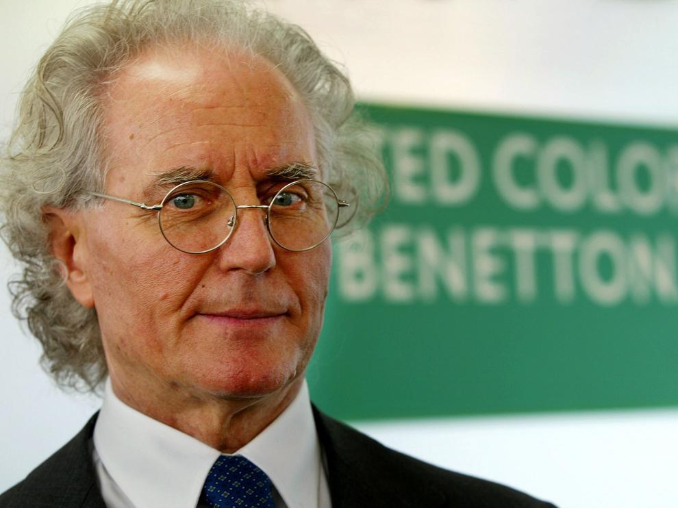 El empresario italiano Luciano Benetton.