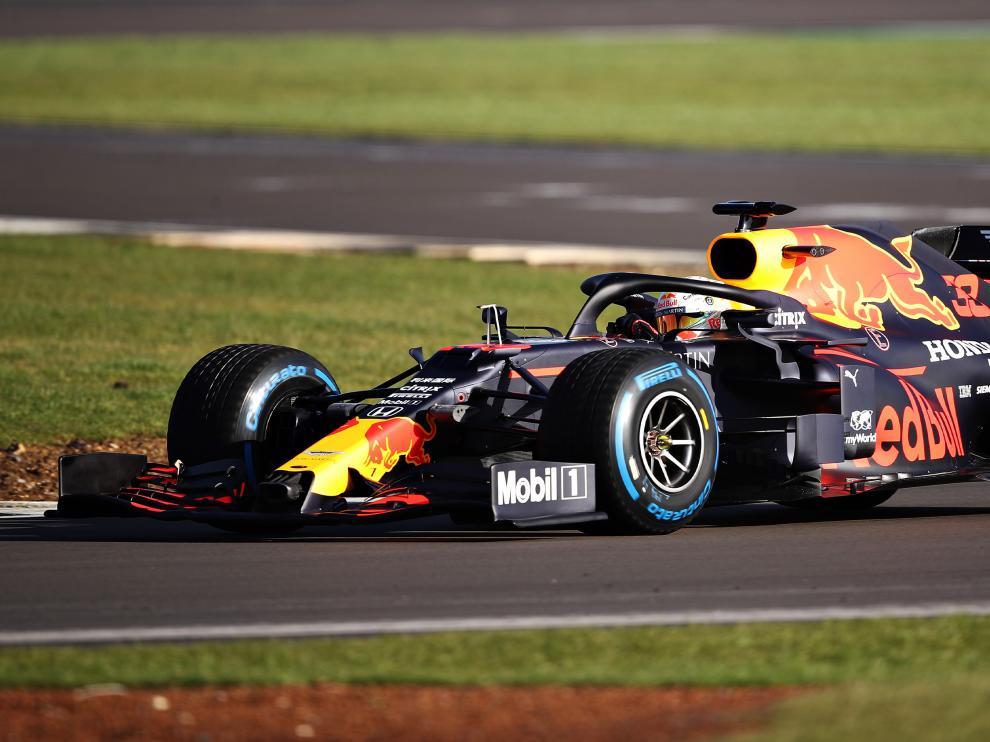 El RB16, el nuevo de la escuadra austríaca de Red Bull.