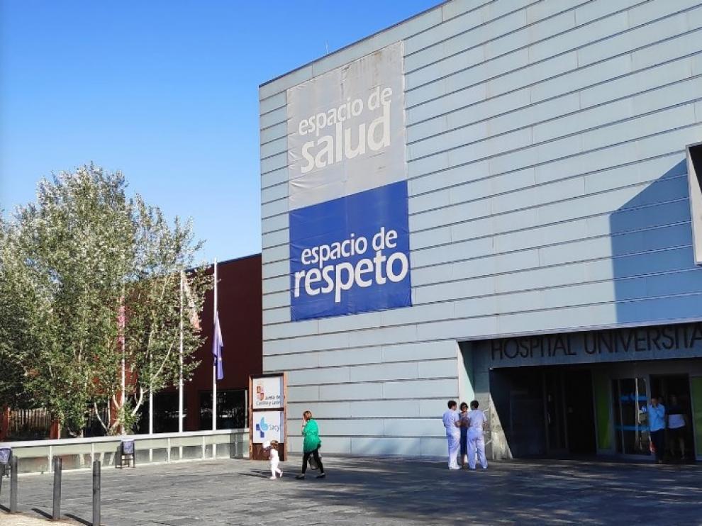 La mujer acuchillada ha sido trasladada al Hospital Universitario Río Hortega de Valladolid