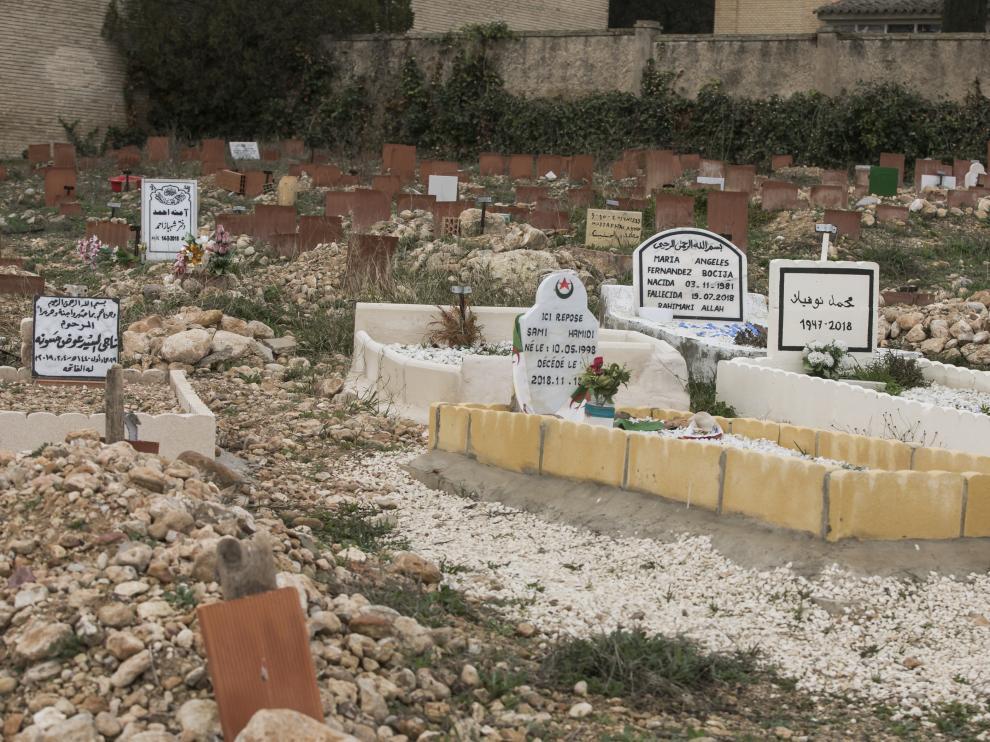 Cementerio musulmán de Zaragoza, dentro del recinto de Torrero.