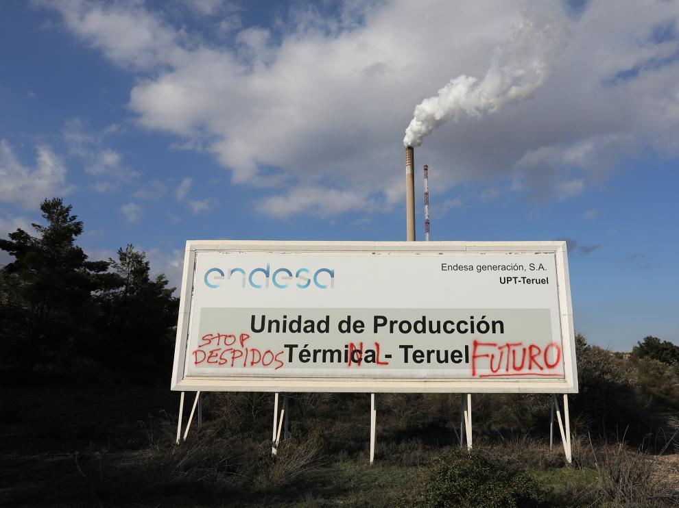 CENTRAL TERMICA DE ANDORRA ( TERUEL ) / ULTIMO DIA / 13/02/2020 / FOTO : JAVIER ESCRICHE [[[FOTOGRAFOS]]]