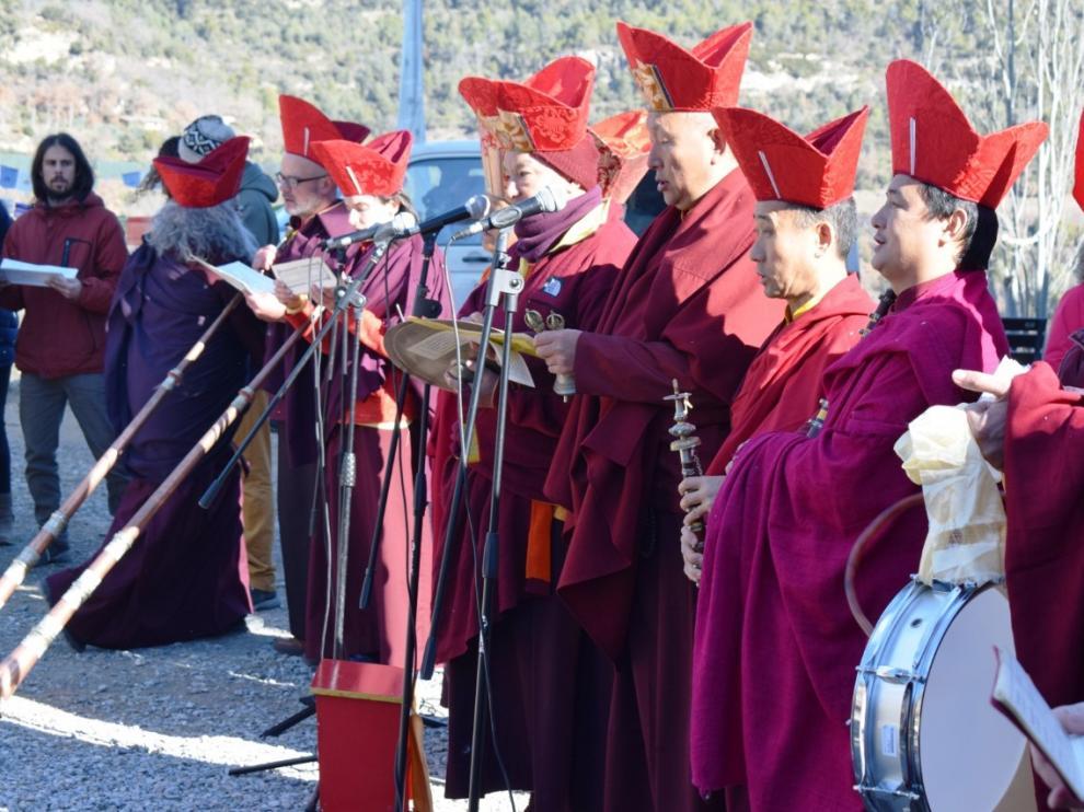 Ceremonia de apertura del año tibetano de 2019