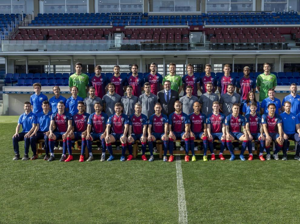 El club ha publicado la foto oficial de la temporada.