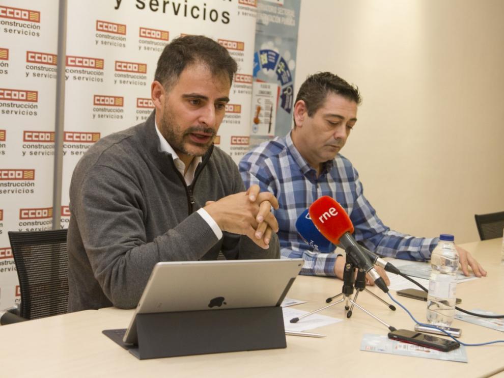 Vicente Sánchez y Fernando Baraza